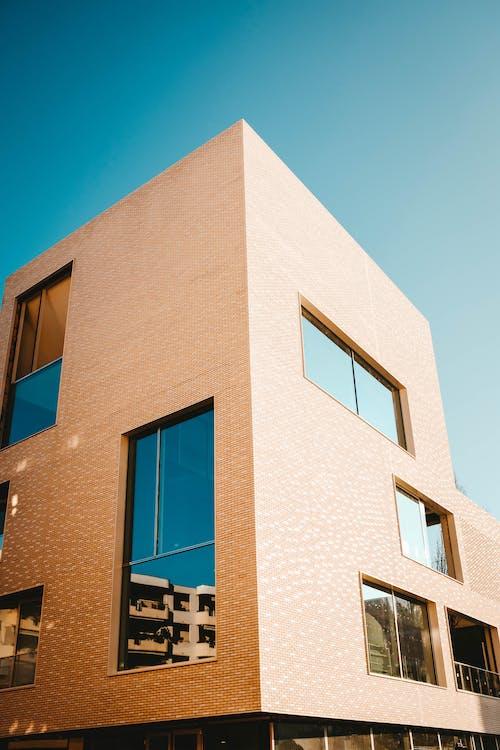 パターン, モダン, 幾何学的な, 建物の外観の無料の写真素材