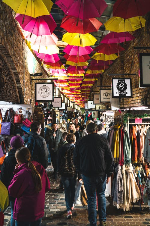 Free stock photo of alley, alleyway, camdem market, camden