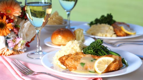 Free stock photo of chicken, chicken Francaese