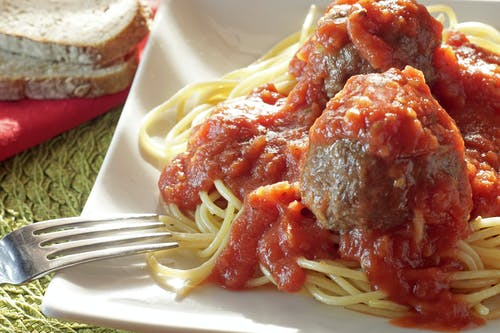 Free stock photo of meatballs, pasta, spaghetti