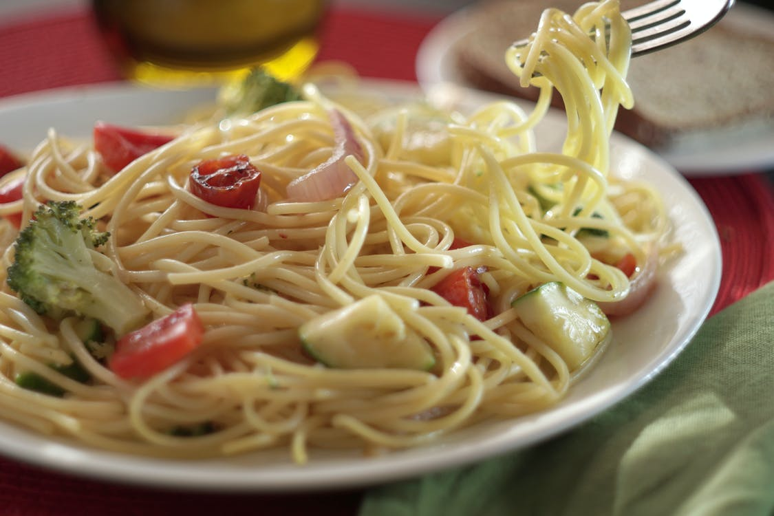 Close-Up Photo of Pasta