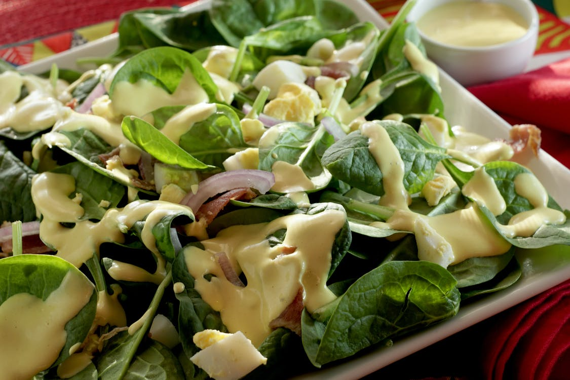 Close-Up Photo Of Salad