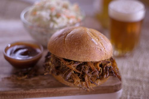 三明治, 拉豬肉 的 免費圖庫相片