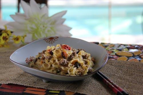Fotos de stock gratuitas de comida asiática, fideos, fideos de arroz, tallarines