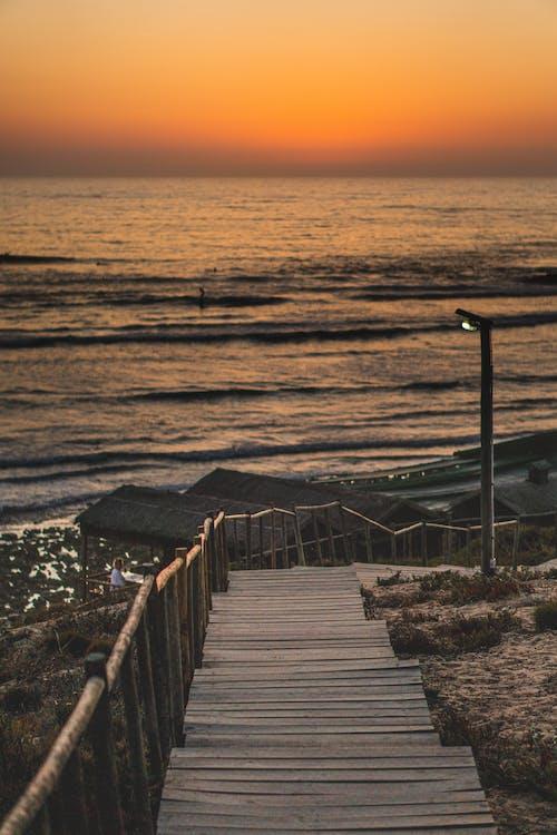 대서양, 따뜻한, 바다, 수평선의 무료 스톡 사진