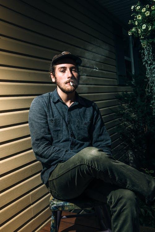 Ảnh lưu trữ miễn phí về Đàn ông, đẹp, đẹp trai, Điếu xì gà