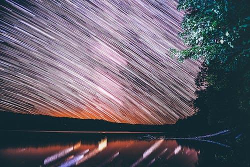 Star Trail At Night