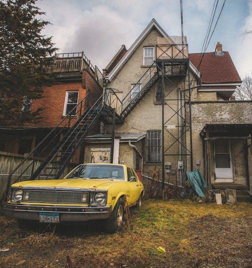 交通系統, 停, 城鎮, 家 的 免費圖庫相片