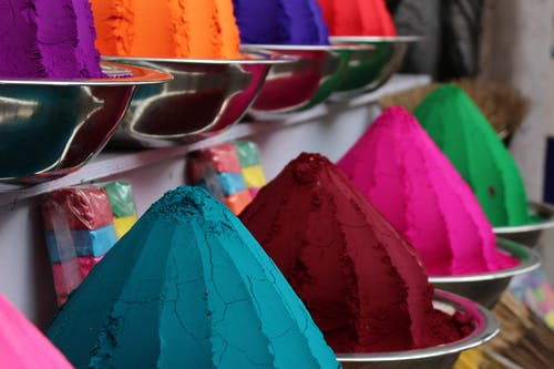 Free stock photo of bright colors, colorful, colors in india, food market