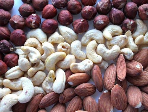 Free stock photo of almond, almonds, cashew