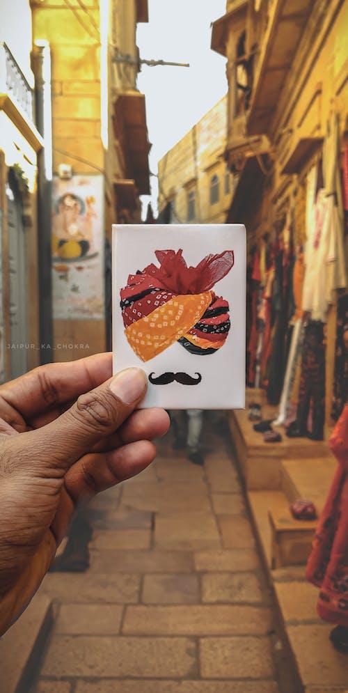 Immagine gratuita di colori in india, giallo dorato, jaipur, jaisalmer