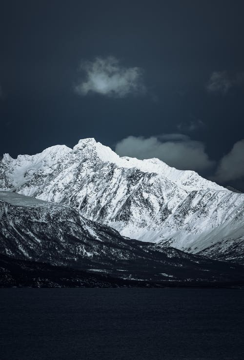 Nature Photography of Snow Capped Mountains