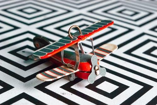 Free stock photo of airplane, biplane, close-up, flight