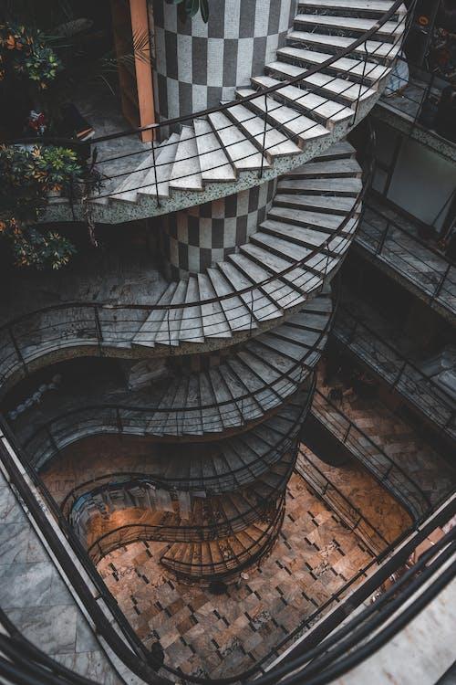 Imagine de stoc gratuită din arhitectură, balustradă, cadru negru, clădire