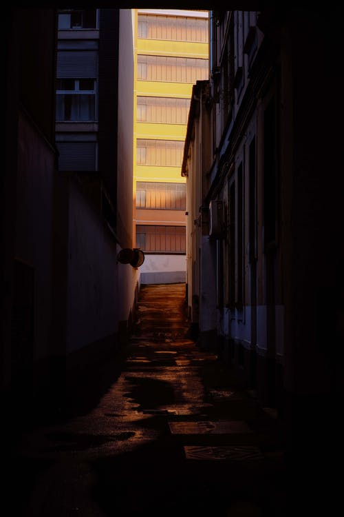怪異, 指導, 漆黑, 狹窄 的 免費圖庫相片