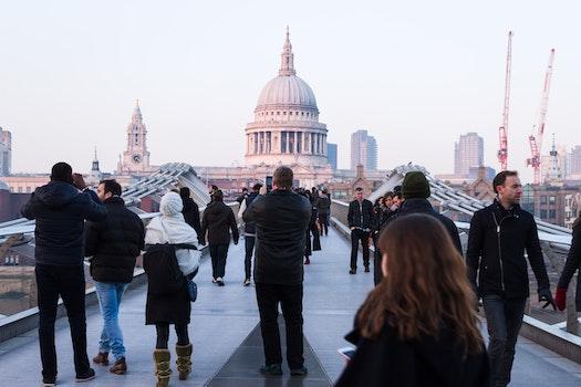 Free stock photo of people, london, St Pauls