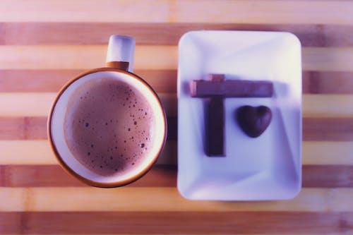 คลังภาพถ่ายฟรี ของ กาแฟ &, ช็อคโกแลต