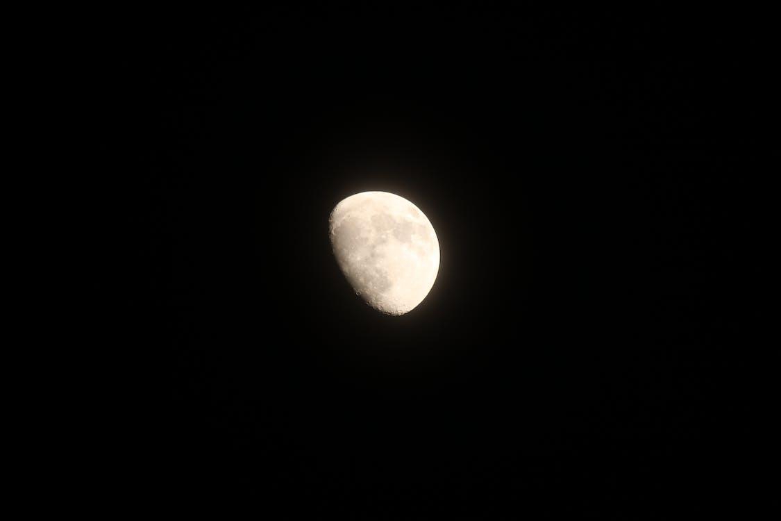 czarny, księżyc