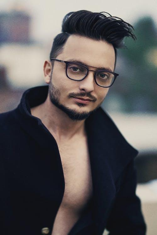 adam, aşındırmak, asyalı adam, gözlük içeren Ücretsiz stok fotoğraf