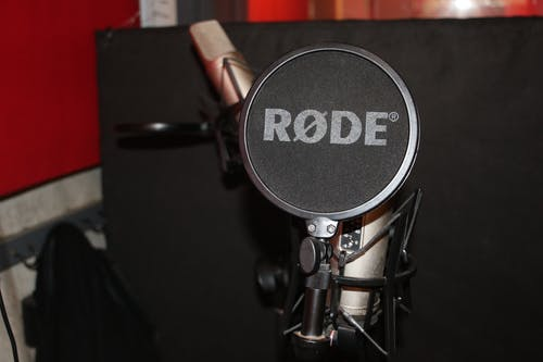 Free stock photo of music, music production, rode mic