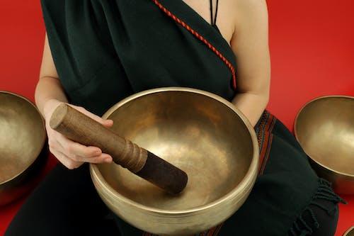 Foto profissional grátis de acústico, budismo, close, cura