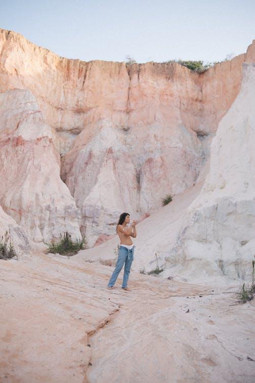 Ingyenes stockfotó hegy, homokkő, kanyon, modell témában