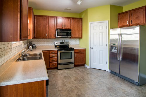 Free stock photo of kitchen, kitchen appliance, refrigerator