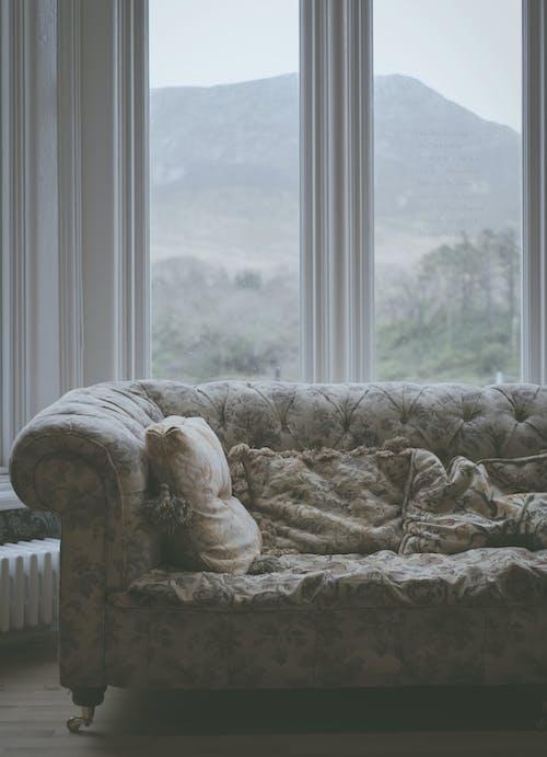Free stock photo of glass window, irlande, Kylemore, living room