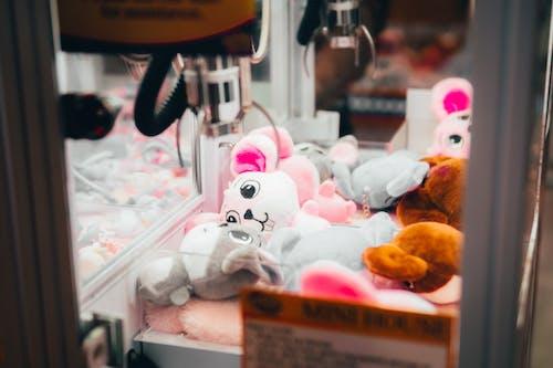 Verschiedene Farbige Tier Plüschtiere Im Automaten