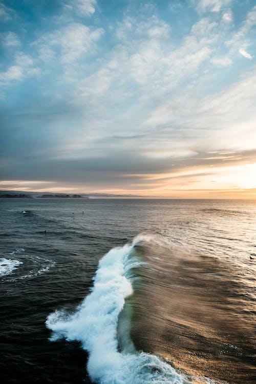 Free stock photo of beach, ocean, sunrise, surf