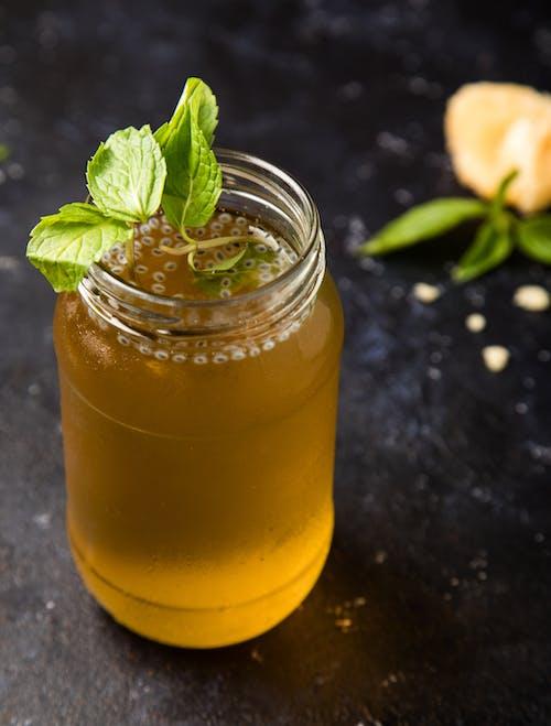 Free stock photo of basil seeds, cooler, foodphotography, glass jar