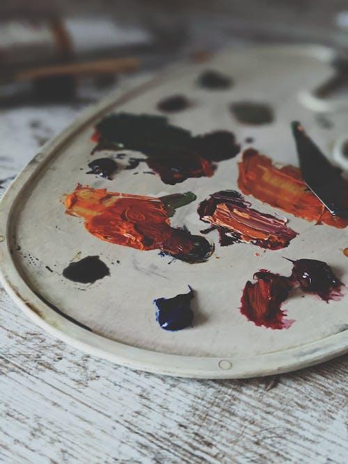 Imagine de stoc gratuită din acrilic, acrilice pictura, colorat