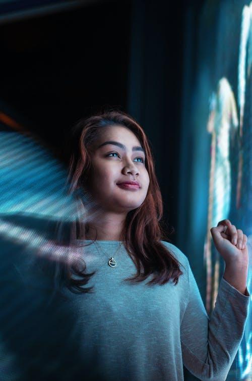 50毫米, 亞洲女人, 女人, 有吸引力 的 免費圖庫相片