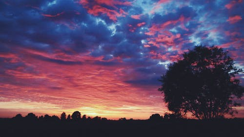 Free stock photo of clouds, landscape, outside, sunset