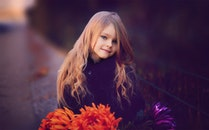 fashion, person, flowers