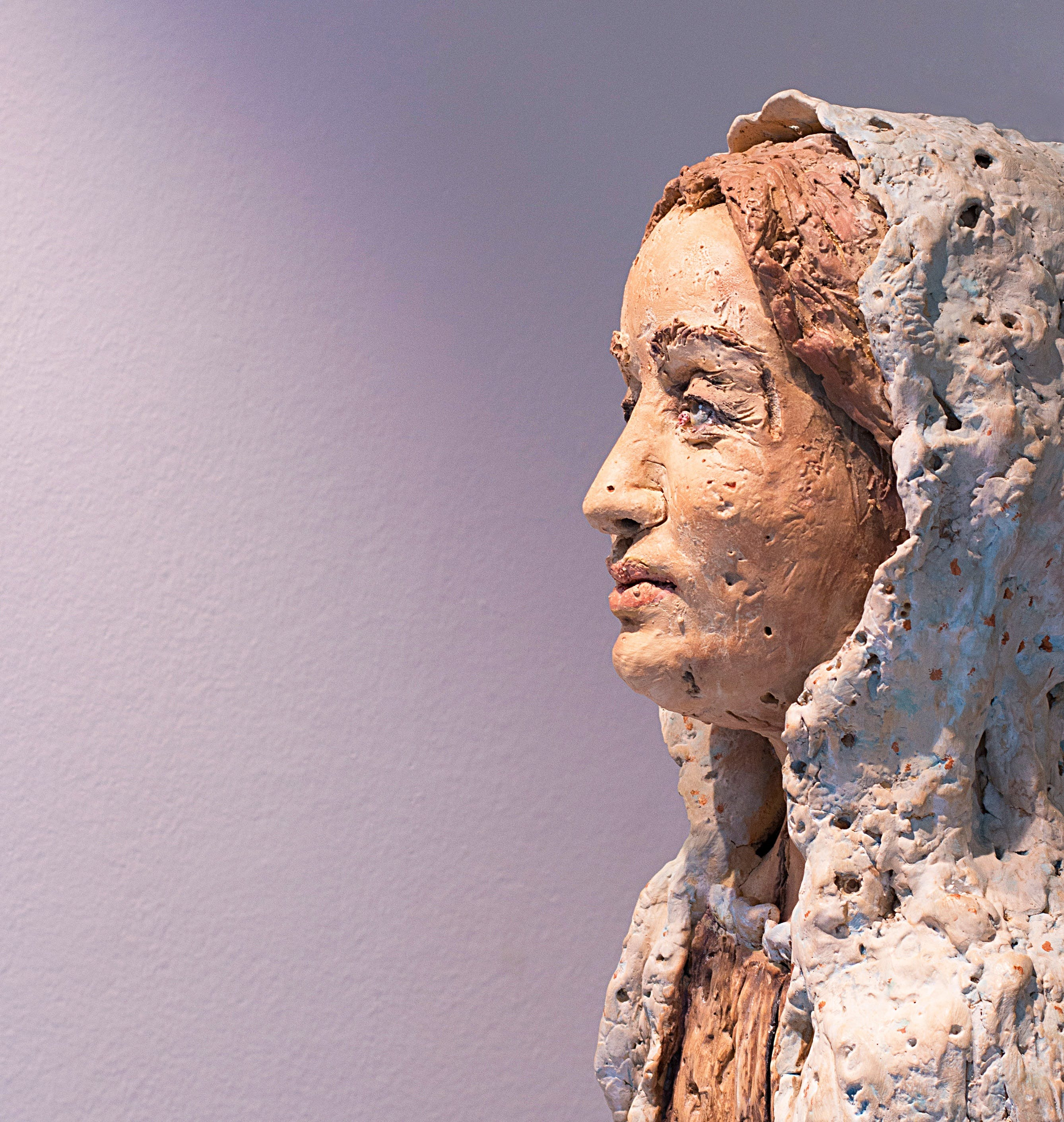 Free stock photo of woman, art, statue, face