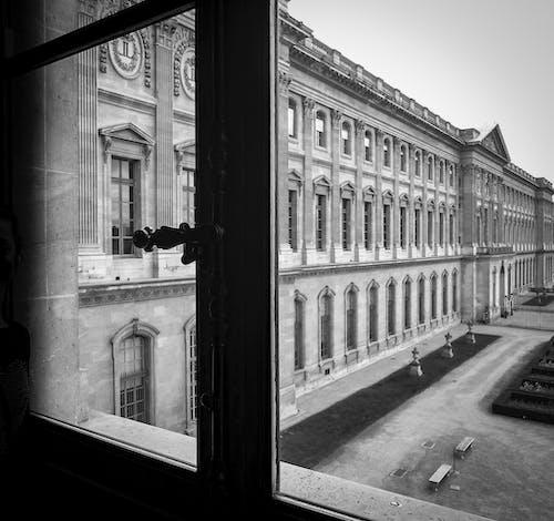 卢浮宫博物馆, 宮殿, 巴黎, 建造 的 免费素材照片