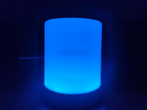 Free stock photo of blue, lamp, light, luminous