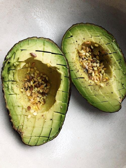 Imagine de stoc gratuită din avocado, coajă, crește, culoare