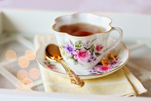 Free stock photo of plate, cup, mug, spoon
