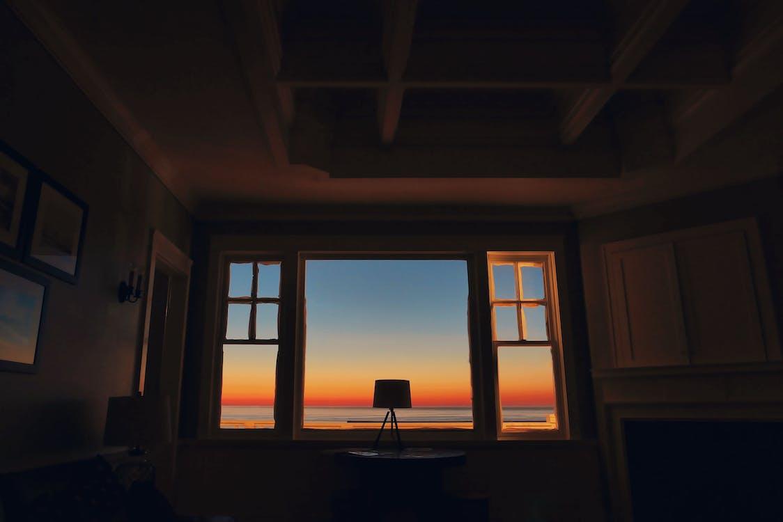 Lamp Near Window