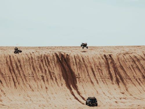 Foto stok gratis alam, bukit pasir, di luar rumah, erosi