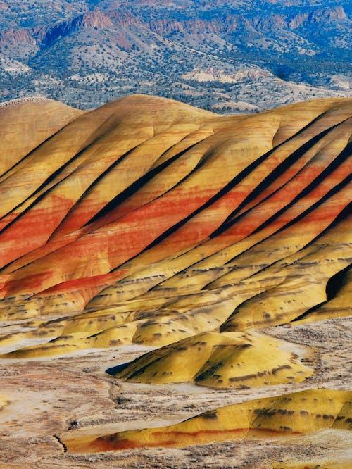 Δωρεάν στοκ φωτογραφιών με άμμος, βουνά, βράχια, γεωλογία
