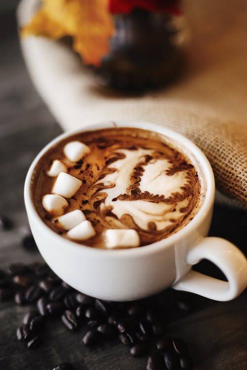 Δωρεάν στοκ φωτογραφιών με latte art, marshmallow, αλοιφή, αναψυκτικό