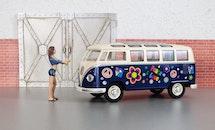 bikini, woman, vehicle