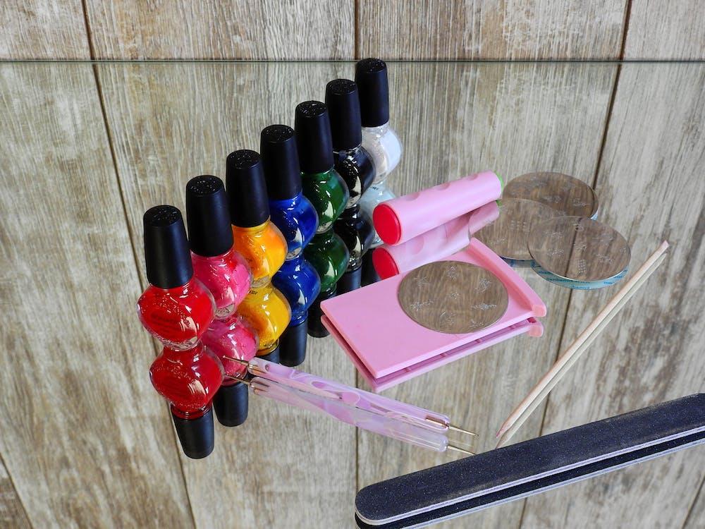 дизайн ногтей, косметика, краска