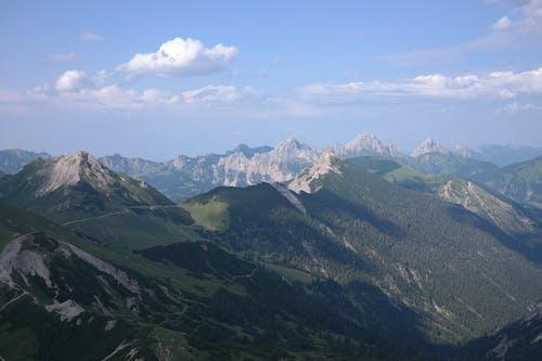 サミット, のどか, 山岳, 山脈の無料の写真素材