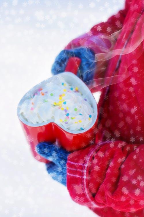 冬季, 可可, 心, 情人節 的 免费素材照片