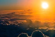 light, sky, sunset