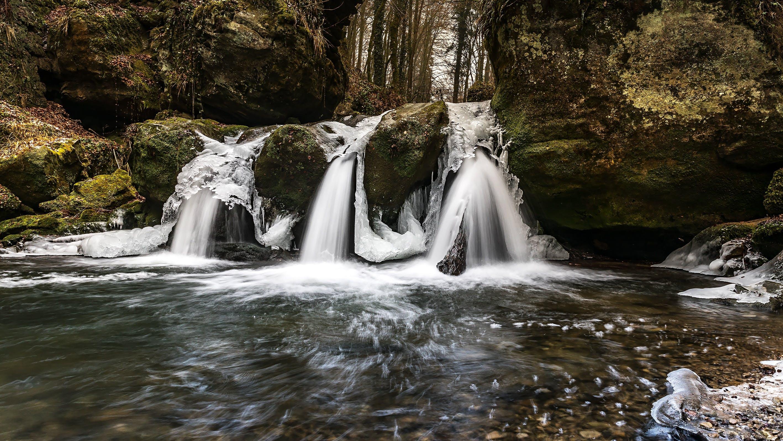 Body of Water Beside Rock